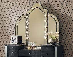 bedroom mirror lights elegant ideas about vanity table with