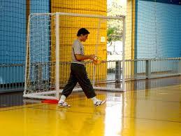 Treinamento para goleiros em Futsal