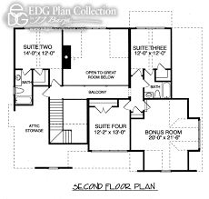 rustic cottage two plan 3126 edg plan collection