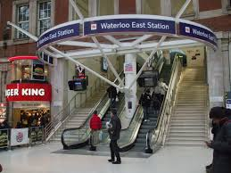 Waterloo East railway station