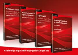 Applied Linguistics and Second Language Acquisition    Cambridge     Cambridge Extra at LINGUIST List Cambridge Applied Linguistics Series Cambridge University Press