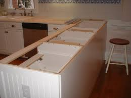 How To Install Kitchen Island by Furniture How To Install Corian Countertop For Kitchen Island