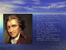Thomas Paine And His Writings SlideShare