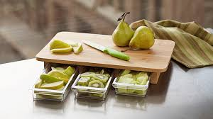 Cool Cutting Boards Cutting Board With Prep Storage Cool Products Popsugar Smart