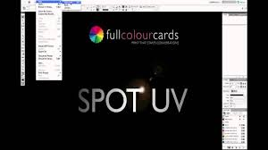 How To Laminate Business Cards Full Colour Cards How To Create Spot Uv Business Cards Youtube
