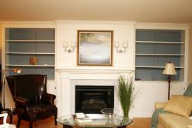 Custom Bookshelves Cost by Remodelaholic Living Room Remodel Adding A Fireplace And Built