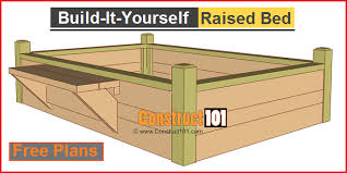 Planning A Raised Bed Vegetable Garden by Brilliant Raised Garden Blueprints Raised Bed Vegetable Garden