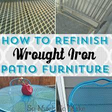 Cast Iron Patio Set Table Chairs Garden Furniture - patio 45 wrought iron patio chairs bistro wrought iron patio