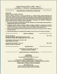 Resume Examples For Food Service by Environmental Executive Resume Example