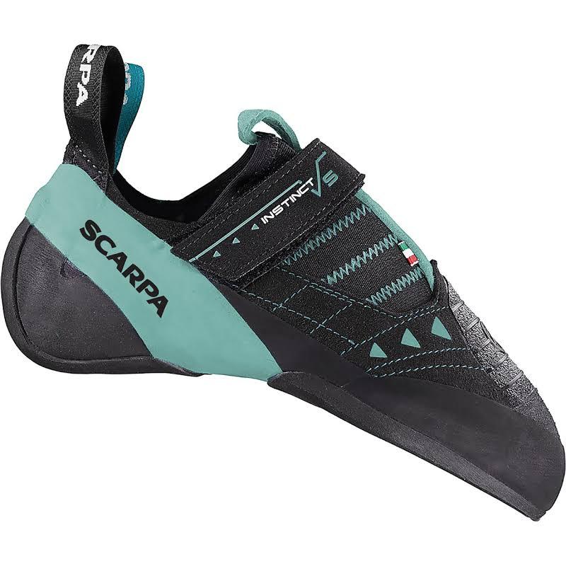 Scarpa Instinct VS Climbing Shoes Black/Aqua Medium 37.5 70013/002-BlkAqua-37.5
