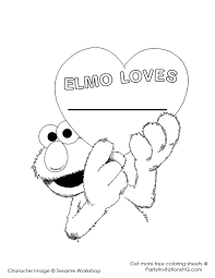 sesame street coloring pages coloring page