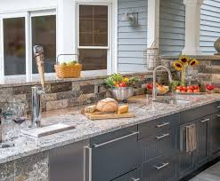 Kitchen Cabinets Long Island by Outdoor Kitchen Cabinets Built In Or Modular The Platinum Group