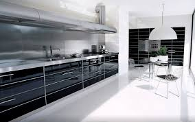 Modern Luxury Kitchen Designs by Modern Kitchen Luxury Modern Industrial Gloss Black White Kitchen