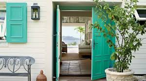Europe House Color Palletee by Our Favorite Coastal Front Door Color Palettes Coastal Living
