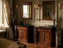 small bathroom furniture double dark brown wooden bathroom