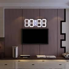 aliexpress com buy remote control large led digital wall clock