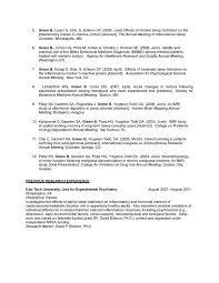 Clinical Psychologist Resume Sample  clinical psychologist resume