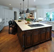 Kitchen Island Sizes by Cool Kitchen Island With Cooktop Images Design Inspiration