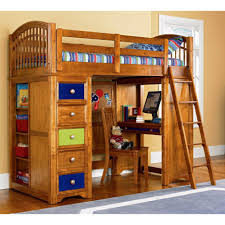 Bunk Beds With Slide And Stairs Bunk Beds 3 Bed Bunk Bed Set Metal Loft Beds With Desk Wayfair