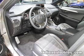 lexus nx sedan 2018 lexus nx 300 dashboard at iaa 2017 indian autos blog