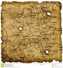 Fuzhou China Map by Ancient China Map Royalty Free Stock Photo Image 6411365