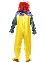 cl921 horror killer clown scary circus costume mens halloween
