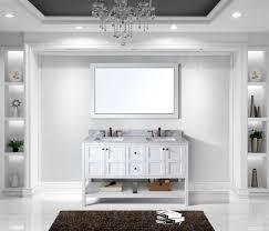 virtu usa winterfell 60 double bathroom vanity set in white