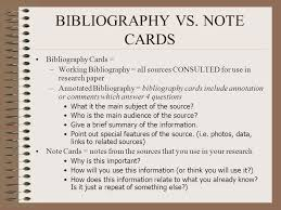 Annotated bibliography introduction paragraph    Writing an     Understanding Sources