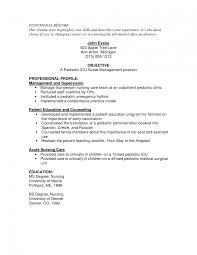 Sample Resume Objectives When Changing Careers by Resume Objective For Rn New Graduate 12751650 Icu Nurse Sample Neu
