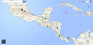 Labeled Map Of Central America by United States Labeled Map And Capitals Of The United Maps And