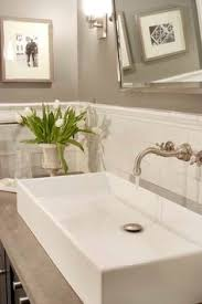 White Subway Tile Backsplash Ideas by Suzie Hendel Homes Gorgeous Green Bathroom With Sage Paint