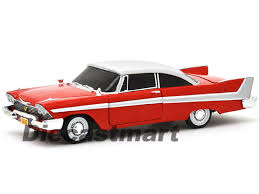 eBay | AUTOWORLD 1:18 1958 PLYMOUTH FURY CHRISTINE CAR RED DIECAST ... - L01