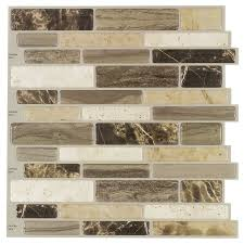 interior u0026 decor fabulous peel and stick tile for best tile