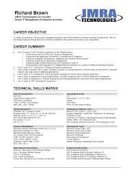 best resume objective samples resume examples internship resume