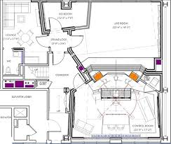 Recording Studio Floor Plans Jungle City Studios The Penthouse