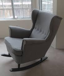 10 easy ikea hacks for the nursery wingback rocking chair