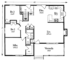 Ranch Style House Plans by Ranch Style House Plans Under 1200 Square Feet Nice Home Zone