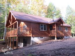 Log Home For Sale Double Module Settler Log Cabins Manufactured In Pa