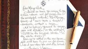 Have A Nice Weekend Business Email by How To Write A Charming Thank You Note Southern Living