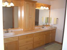 bathroom oak cabinets model information about home interior and