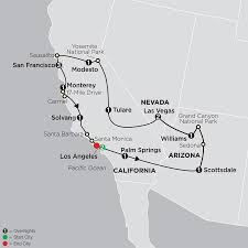 Grand Park Los Angeles Map by Tour West America Cosmos Affordable Travel
