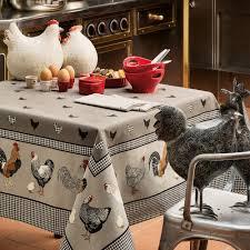 nappe ronde enduite 160 nappe de table nappe enduite haut de gamme beauvillé