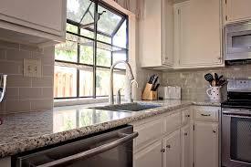 Small Kitchen Design Ideas 2012 Kitchen Cabinet White Cabinets Tan Countertops Hardware Square