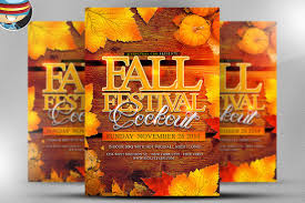 halloween flyer background free fall festival flyer template flyer templates creative market