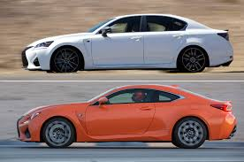 lexus sedan packages gs f vs rc f 5 reasons to choose the sedan or the coupe