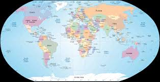 Political Map Of South America World Map Map Of World World Political Map