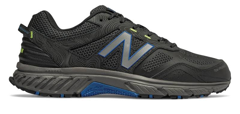 New Balance 510 v4 Trail Running Shoes Black 7 Extra Wide (E+, WW)