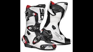 high heel motorcycle boots sidi mag 1 motorcycle boots white black thevisorshop com youtube