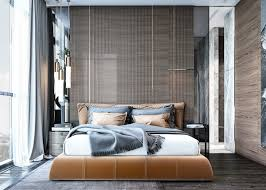 cool bedroom designs which use slats for accent wall decor ideas contemporary bedroom design with a beautiful and soft color decor ideas