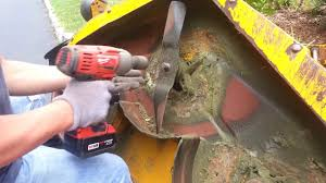 how do i remove and change blade on cub cadet mower removing the